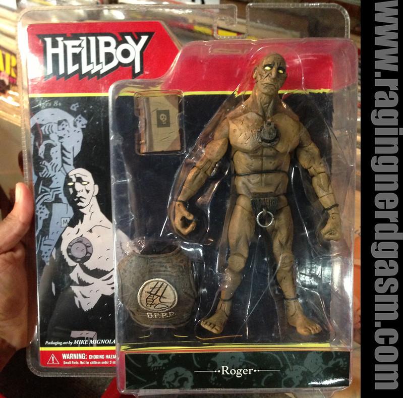 Mezco Present Hellboy Comic Book Style Figures Roger