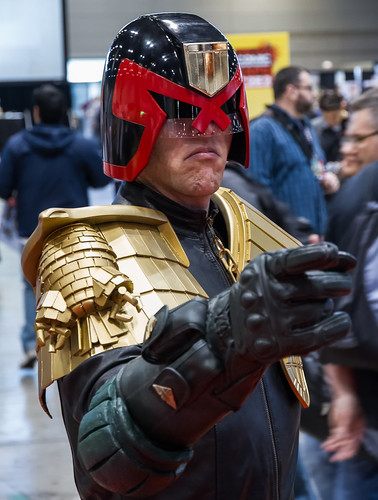 Judge Dredd IS the Law at C2E2 2013