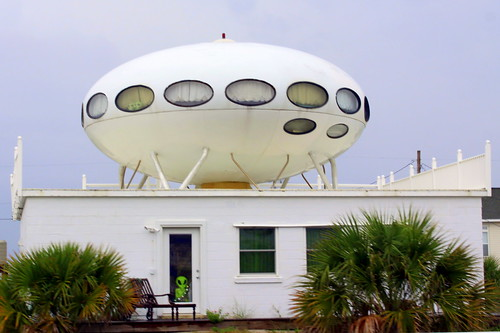 The Futuro - UFO House - Pensacola Beach, FL
