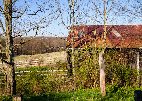 Barn and View