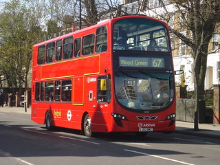 Arriva HV53 on Route 67, Stoke Newington