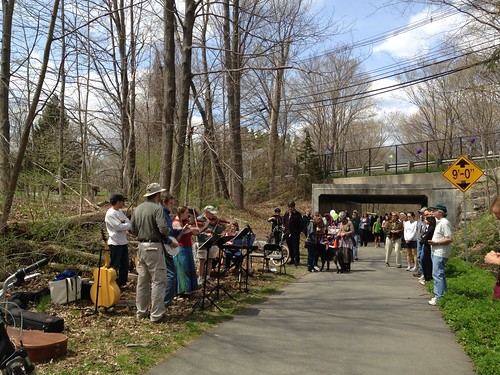 10th anniversary of the Nashua River Rail Trail