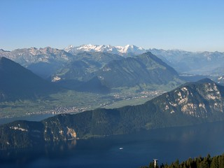 view from Rigi Rotstock