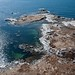 Aerial photograph of the rocky shoreline at Prospect, Nova Scotia - Kite Aerial Photography (KAP) by Rob Huntley Photography - Ottawa, Ontario, Canada