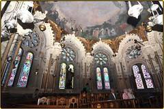 """Santuario de Montserrat """"Monasterio Santa María de Montserrat"""" Barcelona,Cataluña,España"""