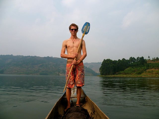 Dug Out Canoe-ing in Uganda