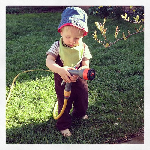 The boy. #garden