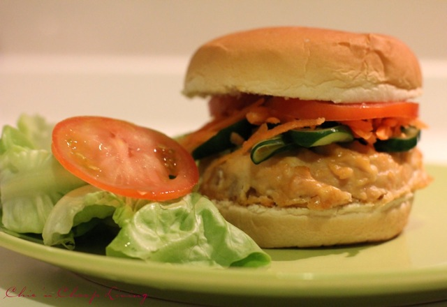 Kitchen: Banh mi chicken burgers / Vietnamese style chicken burgers ...