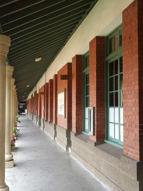清水國小 - 三合院紅磚教室