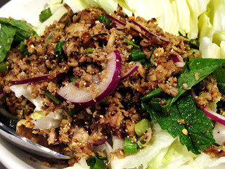 Catfish Larb