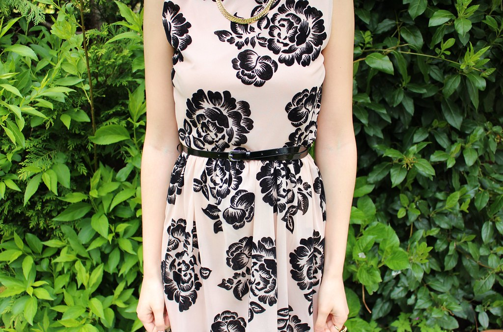 Floral Dress OOTD 1