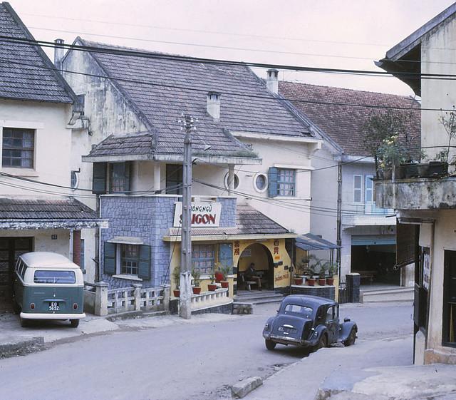 Dalat street scene 1970