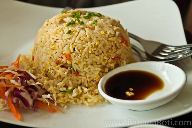 Seafood and Pork Fried Rice at Bon Cafe Siem Reap