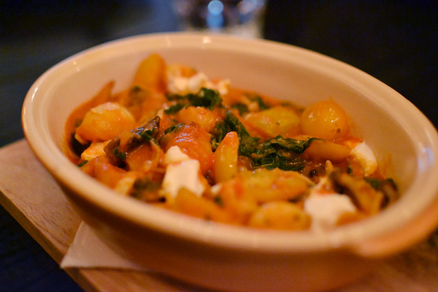 Potato Gnocchi, Spathe Public House, Mohamed Sultan