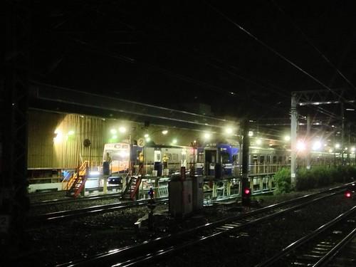 休息(檢修)中的台鐵列車 by sophiepa