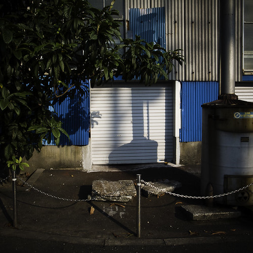 Light Industrial Front with Green Loquat, Urayasu
