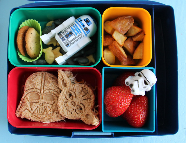 Big Kid Star Wars Bento Lunch #764