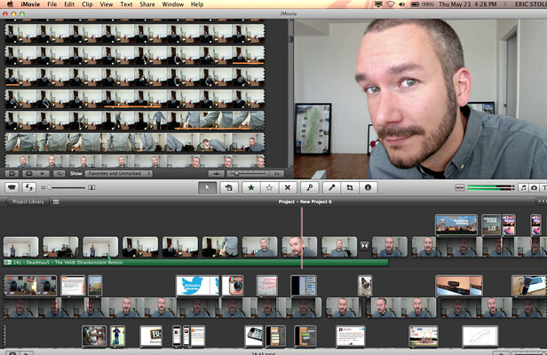 Eric Stoller iMovie and Keynote screen grab