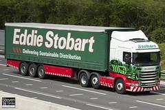 Scania R440 6x2 Tractor - PF12 OZC - Edith Rose - Eddie Stobart - M1 J10 Luton - Steven Gray - IMG_9136