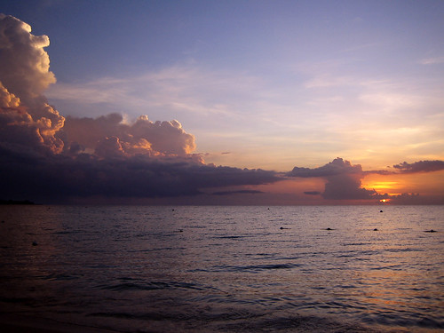 Face in the clouds - Negril, Jamaica