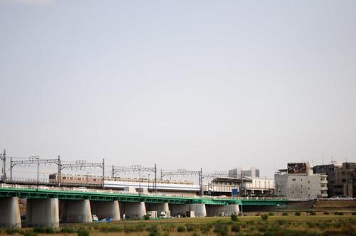 多摩川河川敷/二子玉川