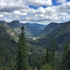 Alpental from the Snow Lake trail. #hiking #snowlake