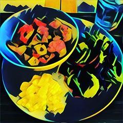 Una dieta abstracta... #Food # Diet