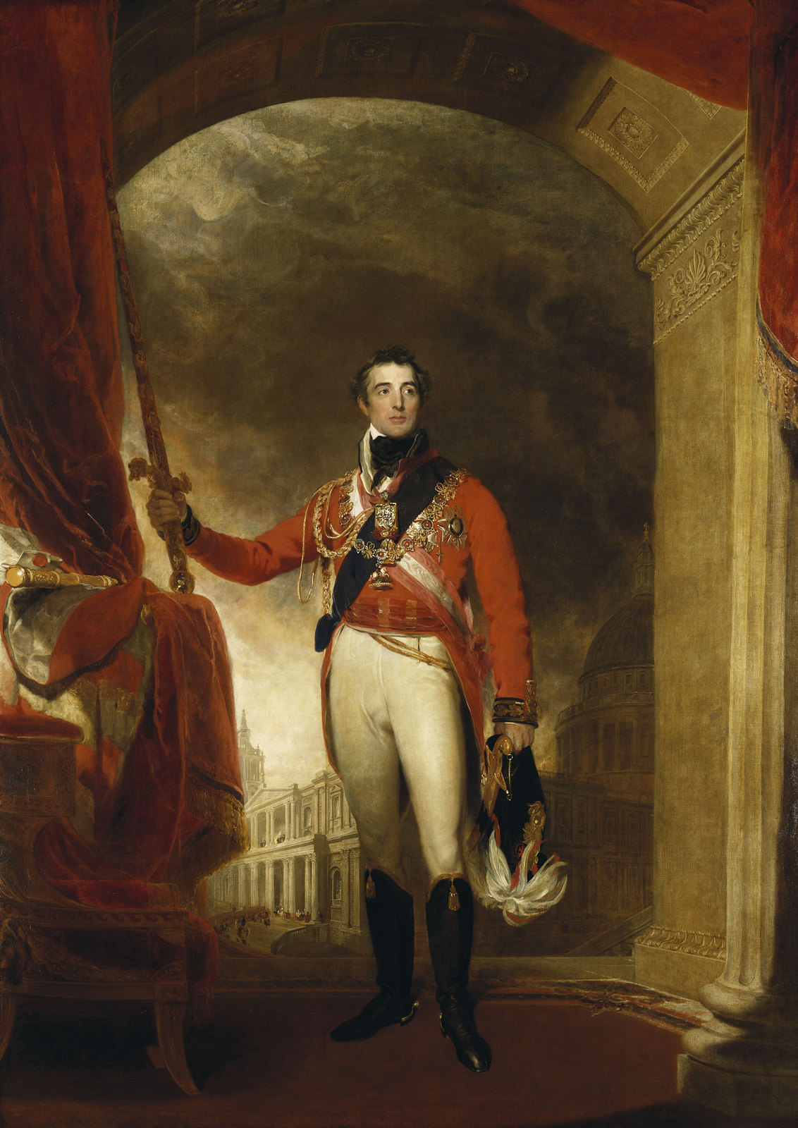 Portrait of Arthur Wellesley, 1st Duke of Wellington by Thomas Lawrence, 1815