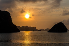Halong Bay Silhouettes