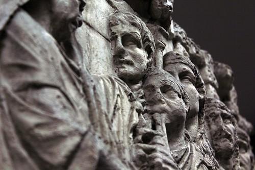 colonna di Traiano: partcolare