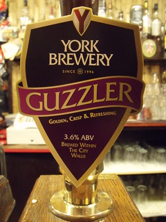 York Brewery, Guzzler, England