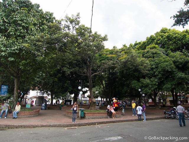 Parque Principal in Sabaneta