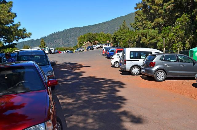 Car Park at La Caldera, La Orotava, Tenerife
