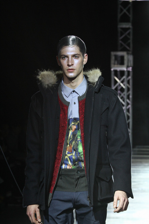 Maxime Bergougnoux3084_FW13 yoshio kubo(Fashionsnap)