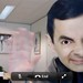 Facetiming with Mr. Bean by illustir