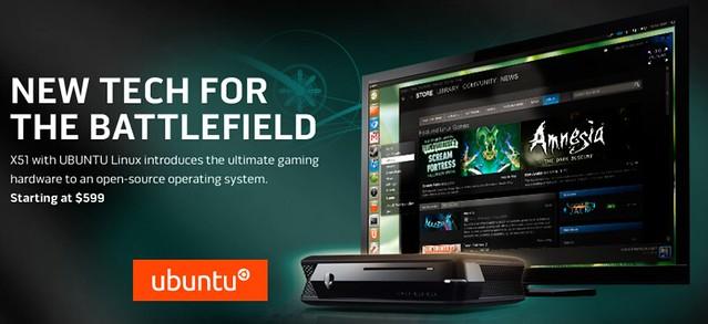 Ubuntu-s játékkonfig a Dell/Alienware-től