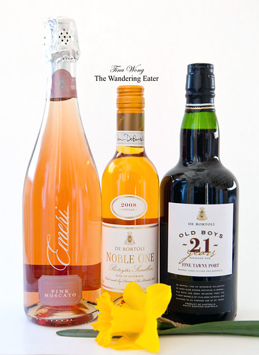 De Bortoli Wines: Emeri Pink Moscato, Noble One, Old Boy Tawny Port