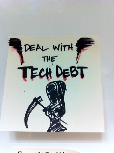Deal with the tech debt