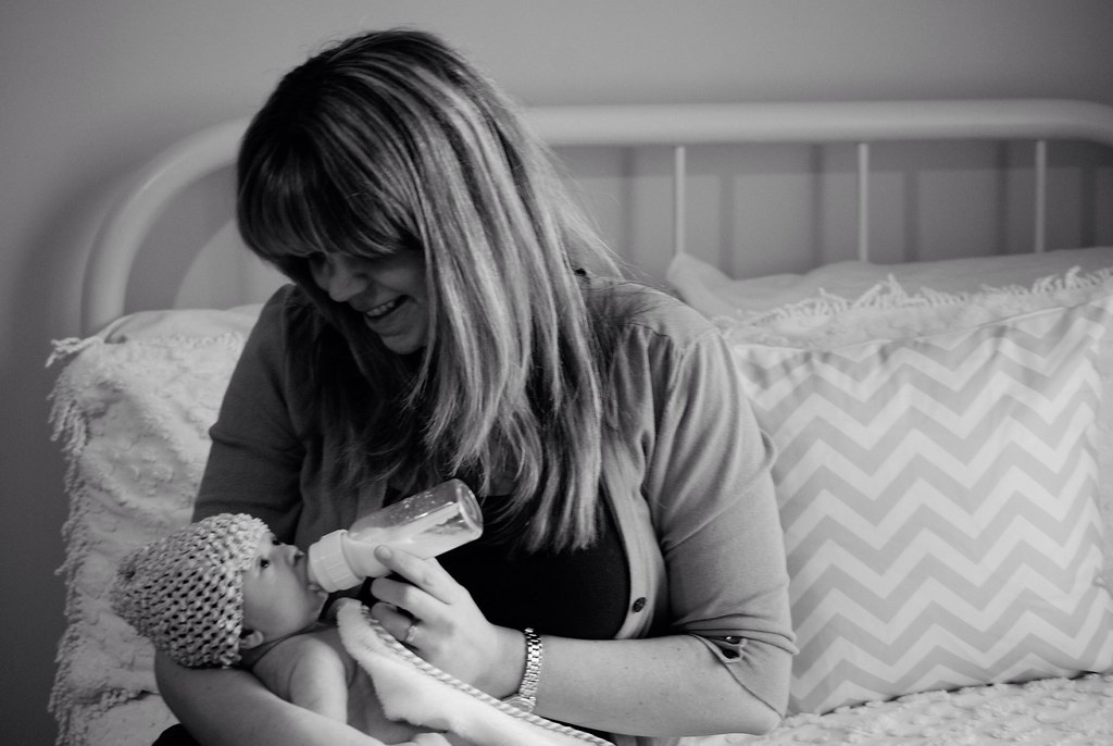 London Newborn photos by Candice
