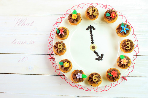 Cupcakes Clock by ·D.M·