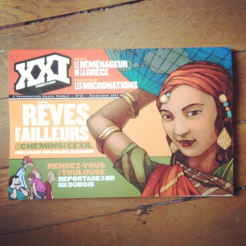 The new number of XXI sec revue it´s in the libraries. Inside some of my work by la casa a pois