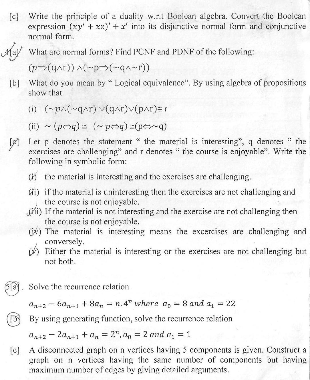 DTU Question Papers 2010 – 3 Semester - End Sem - SW-206