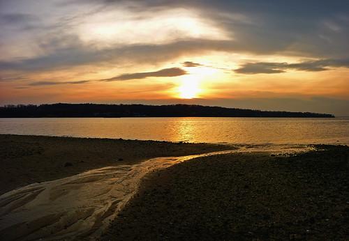 trees sunset sky panorama sun ny newyork seascape beach water clouds gold coast li harbor sand rocks day view cloudy shoreline panoramic longisland seacliff glenwoodlanding longislandsound roslyn hempsteadharbor