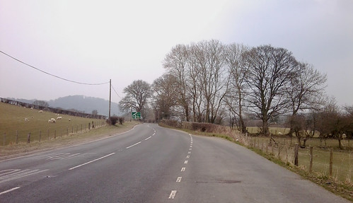 The road to Corwen