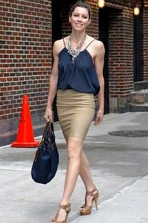 Jessica Biel Camisole Vest Celebrity Style Women's Fashion