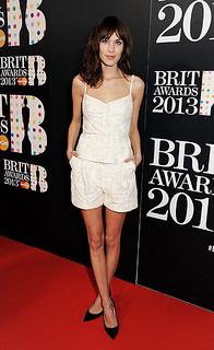 Alexa Chung Camisole Vest Celebrity Style Women's Fashion