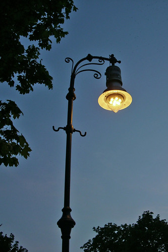 Gaslight and Gas Lamps in Berlin, GERMANY