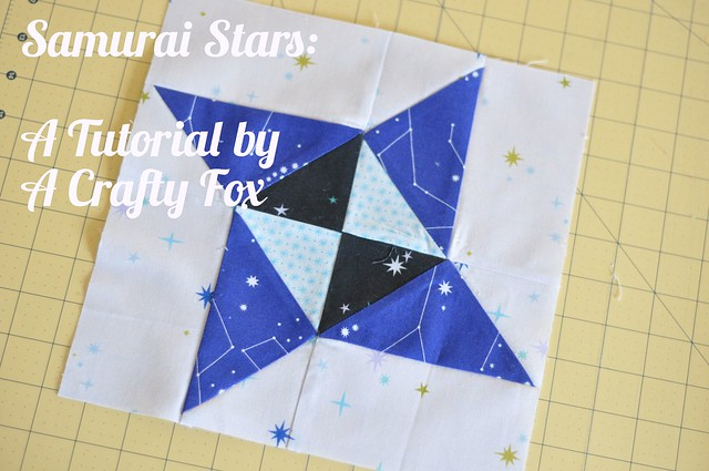 Samurai Star - A Free Quilt Block Tutorial Page