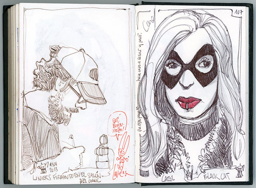39th Sketchcrawl & 31th Salón del Cómic de Barcelona #3