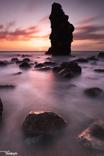 Silhouette Rock by Dave Brightwell